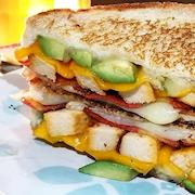 Vegetarian Chick'n Grilled Cheese