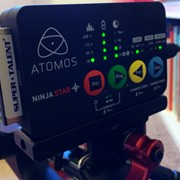A closeup of the Ninja Star.  One of our Pro res recorders.