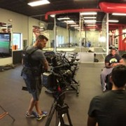 Shoot with Gatorade and NFL Digital Media for a series called NFL UP!