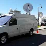 Satellite Uplink, U.S. Secretary of State Mike Pompeo,  Ronald Reagan Presidential Library Simi Valley, CA