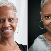 Before vs. After- photographer: Jenna Leigh Studios, makeup: Natalie Hayes, hair: Elmira Sadeghi