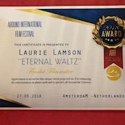 "Winner ""Best Director"" in monthly program, finalist for annual program in Amsterdam"