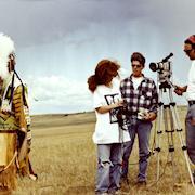 Shooting the documentary Beyond Black Elk