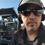 That time I rode on a process trailer for 2 days shooting a Chevrolet commercial.
