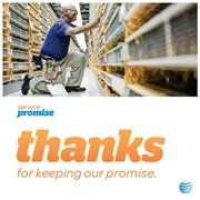 AT&T print ad