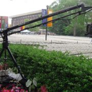 Jib opration at college commencement