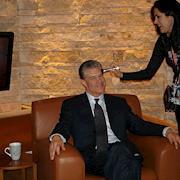 Rhonda styled Jim Lampley for NBC Olympics