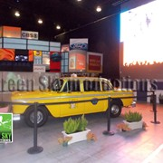 NYC Themed decor- Design and fabrication for the 2014 South Florida Fairgrounds