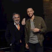 Feherty and Stephen Curry
