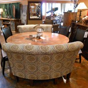 """72"""" round table from Mexico"""