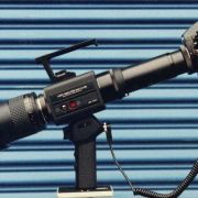 """""""Starlight Scope"""" from the feature film STAKEOUT featuring 8 major components that could be built up or broken down on-camera."""