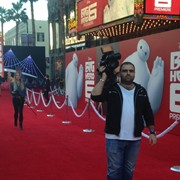 Big Hero 5 LA Premiere shooting for the Discovery channel