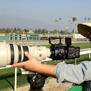 Shooting the Breeders Cup Spot