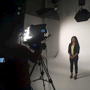 Video Studio Shoot Actress