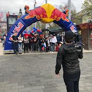 Red Bull Can You Make It? Opening ceremonies.