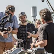 Behind the scenes on location in Brazil