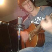 """Recording a cover song of The Pixies """"Where Is My Mind"""" in the Waylon Studio at South Plains College"""