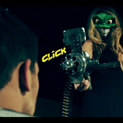 Still from short fan film - The Mask Returns