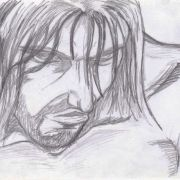 """A storyboard of the protagonist from my music video """"Conscious""""."""