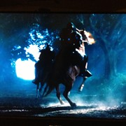 "Ed raring up as ""War"" in Sleepy Hollow, season 2, episode 2"