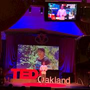 Filmed at the TedX Oakland all day presentations