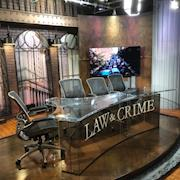 Law and Crime Network in NYC.  Design and built new studio set.