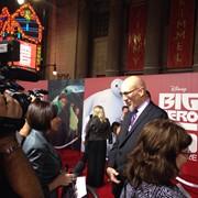 Red carpet interviews