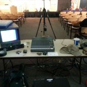 House Audio setup for 2012 CSPAN 26th Congressional District Debate