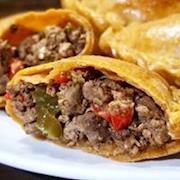 Vegetarian Picadillo Empanada