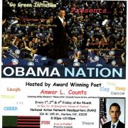 """""""Obama Nation"""" (poetry/comedy showcase) Hosted by Anwar L. Counts"""