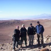 Meteorite Men, on location in Chile