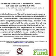 LGBTQ MURAL - CHARLOTTE, NC