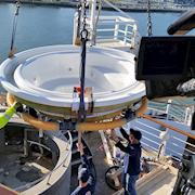 Capsanti Jacuzzi replacement for Norwegian Cruise Lines