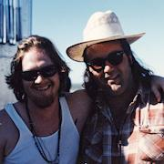 with Donal Logue (Gotham) on the set of Baja