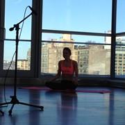 Yoga workout video