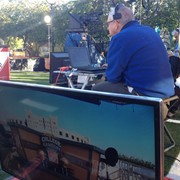 Dual Prompter setup for ESPN Sportscenter, FSU Gameday 2014