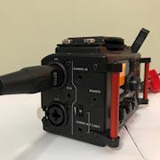 Tascam DR60 input side