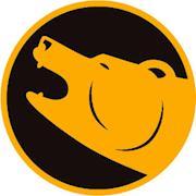 Gold Bear Edit Logo