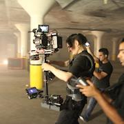 Music Video shoot with Red Epic on Steadicam in south side Chicago warehouse.