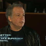 Guest Joe Letteri with Lower Third shot