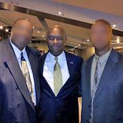 With Herman Cain, Presidential Candidate