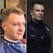 Firefight look vs Captain Nash (911 TV Show)