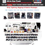 Grip, Lighting, Rigging, & Radios Package