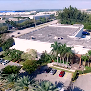 Blue Dolphin Studios Aerial View