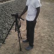 Filming at the Kenya new rail way sgr