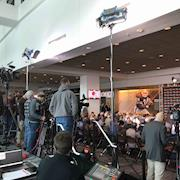 Location lighting Cleveland Browns Presser
