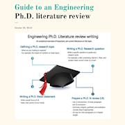 Guide to an engineering ph.d. literature review phd assistance