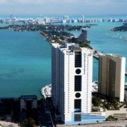 Hotel view of Biscayne Bay