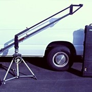 Mini jib arm capable of supporting up to 55 pounds. 3ft up to 8ft extension.