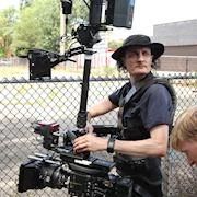 Chicago Steadicam Operator. Sony F5 in low mode on music video shoot.